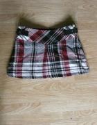 spódnica kratka krata mini