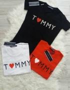 czarna koszulka Tommy Hilfiger nowa z metka