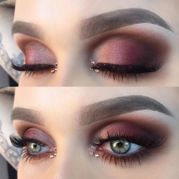 Czekoladowy makeup