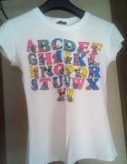 Bluzeczka z alfabetem