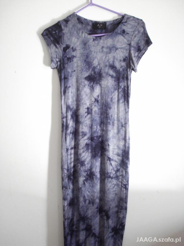 Suknie i sukienki Piękna maxi szara Ax Paris 36