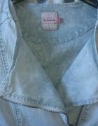 Ramoneska jeansowa szara...