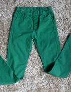 spodnie leginsy kappAhl 152 cm zielone...