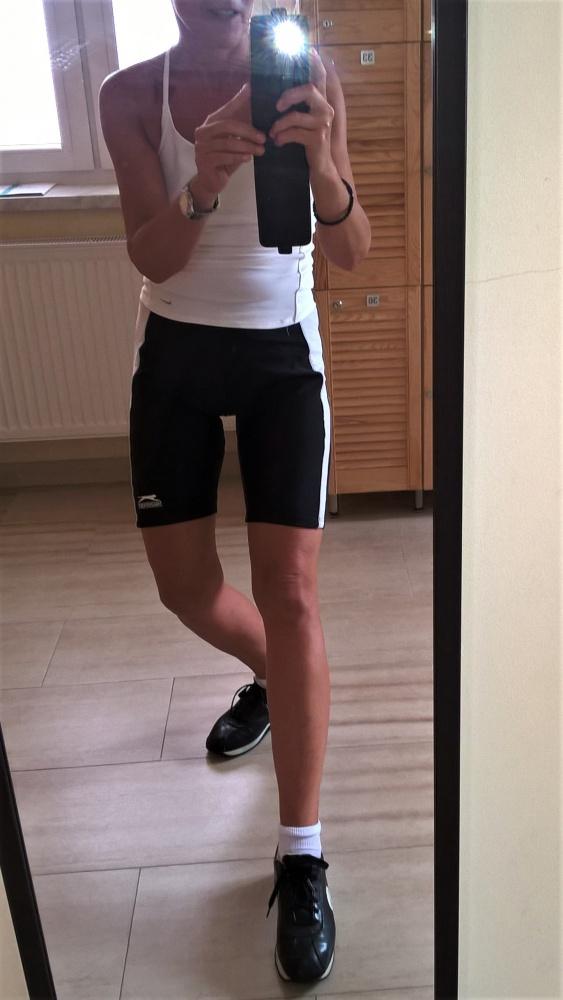 Sportowe Letni strój na siłownię