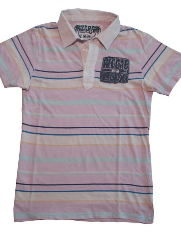 Koszulki i t-shirty Polo Zara M Reggae Love Marley
