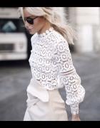 Śnieżna bluzka