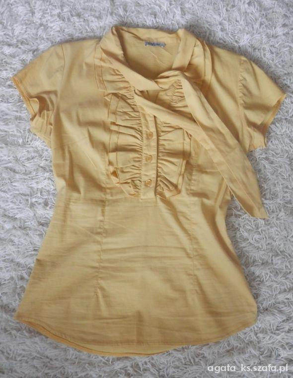 Bluzki Żółta bluzka Dykon r 38