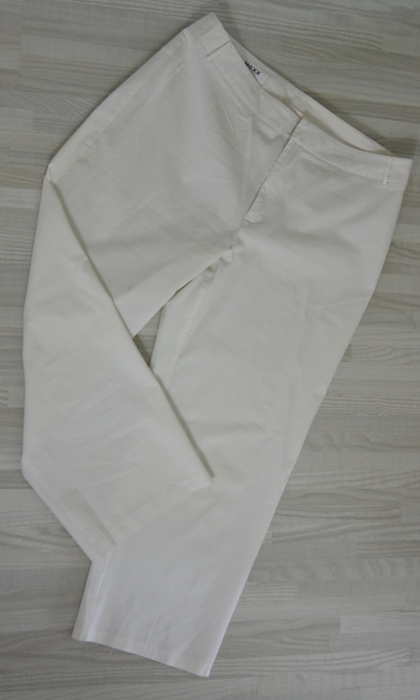 Spodnie Białe spodnie rybaczki