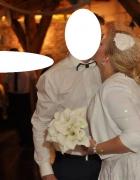 Toczek ślubny...