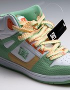 Nowe buty DC REBOUND HI WHITE GREEN 41
