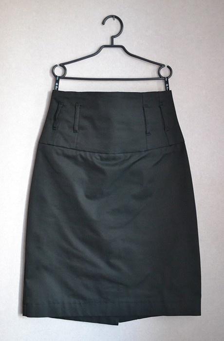 Spódnice Ołówkowa spódnica z wysokim stanem elegancka 38