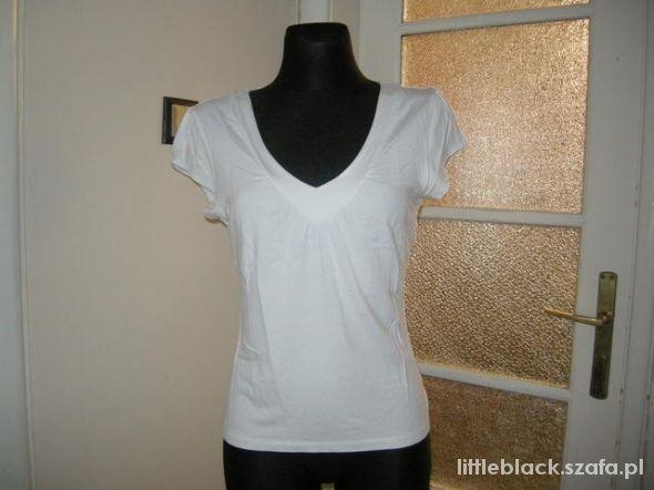Bluzki Biała bluzeczka