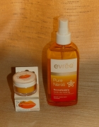 Evree tonik pure neroli oraz peeling do ust