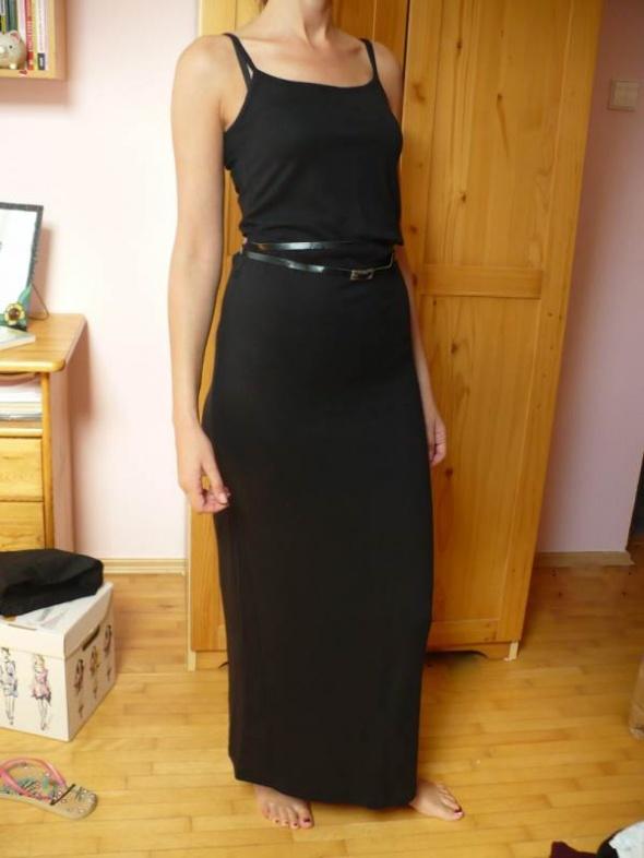 8887214bec czarna sukienka PullBear w Suknie i sukienki - Szafa.pl