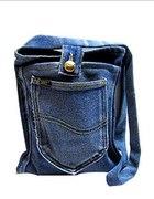 torba torebka jeansowa denim bag