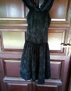 piękna usztywniana rozkloszowana sukiena