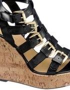 Gladiatorki Graceland Klamry Koturny Platformy