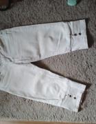 Spodnie białe M jeans