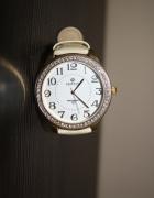 Beżowy zegarek Perfect