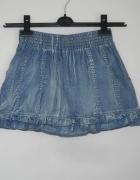 spódniczka jeansowa na gumie ichi s