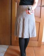 Spódnica spódniczka reserved 34 xs beżowa