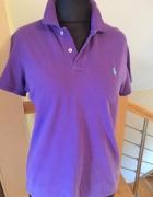 Fioletowa koszulka polo Ralph Lauren 42...