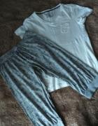 a831f57a73ec71 Piżama z krótkim rękawem S bawełna balerinki.