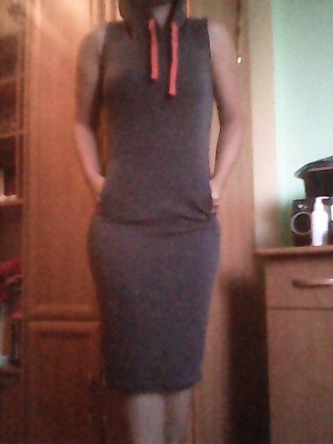 długa sukienka...