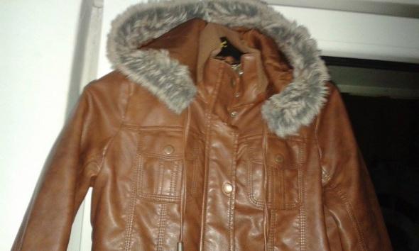 Odzież wierzchnia kurtka brazowa s