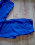 Chabrowe spodnie niebieskie
