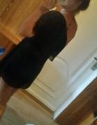 sukienka czarna jedno ramię