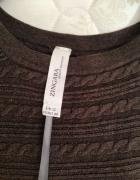 Brązowa śliczna warkocze tunika sukienka Zingara 4