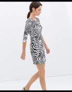 ZARA Sukienka Zebra M
