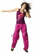Spodnie Zumba Fitness różowe L