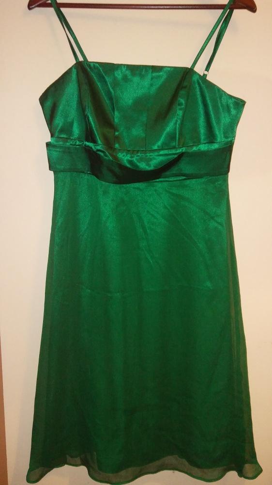 Sukienka mocna zieleń