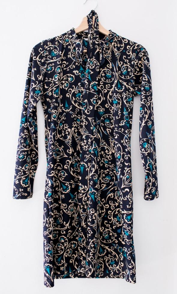 3af6e42a Elegancka sukienka wieczorowa etno wzor Ju Lovi w Suknie i sukienki ...