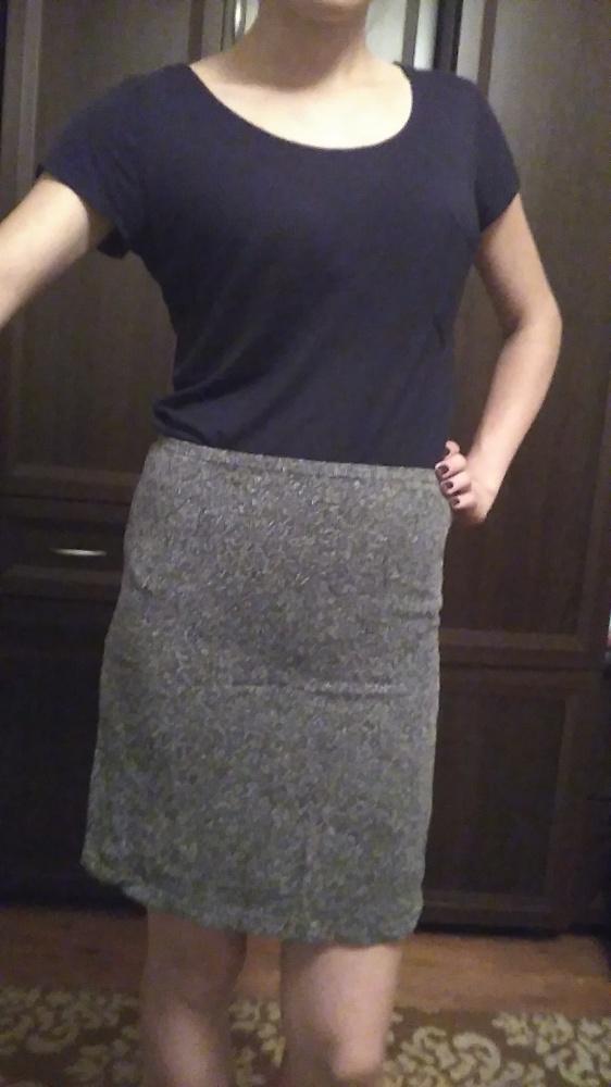 Spódnice spódnica szara siwa