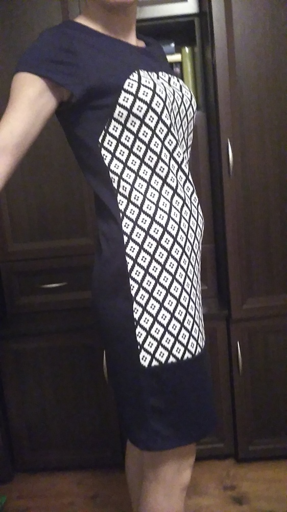 Suknie i sukienki sukienka czarna we wzory