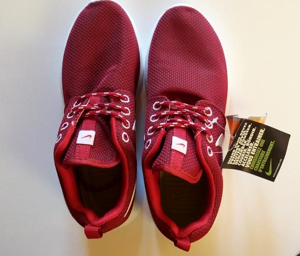 Czerwone Nike Roshe Run damskie...