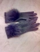 Rękawiczki szare