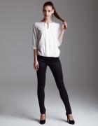 Bluzka biała ecru r 36 Oliwia luźny krój