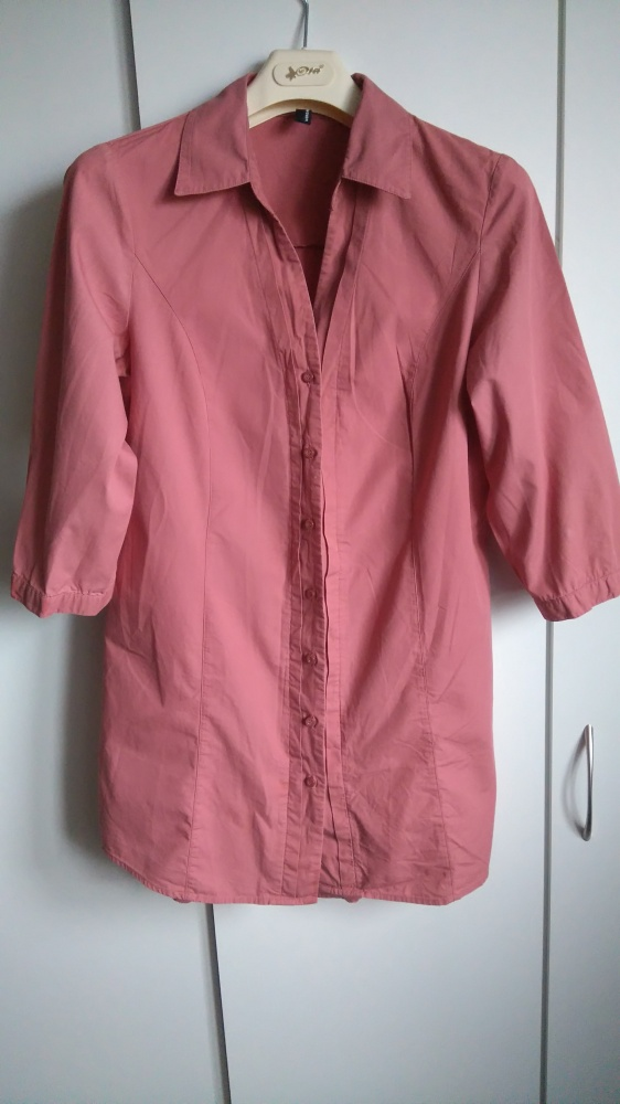 Koszula Vero Moda pudrowy róż