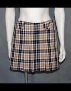 mini spódniczka w kratkę