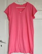 MS Marks Spencer piżamka słodka kropeczki kropki...