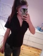 C&A kopertowa koszula kokarda