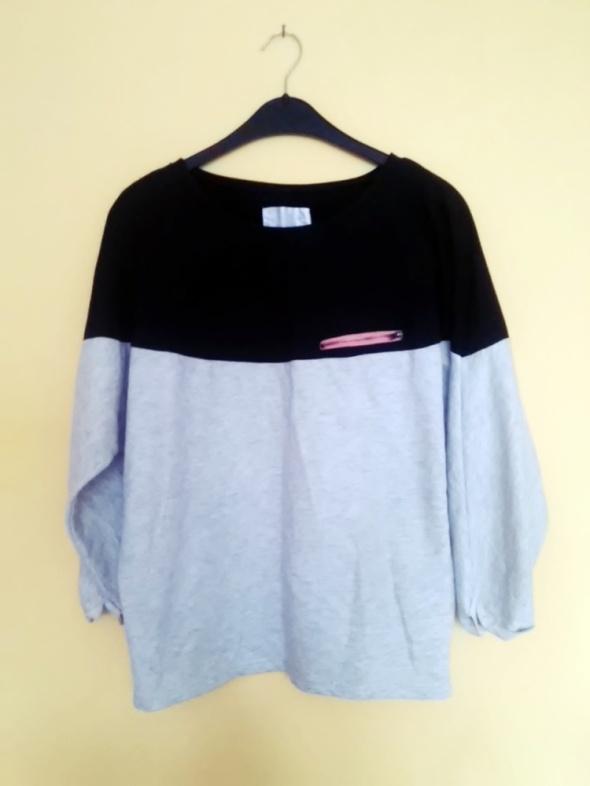 Bluzy bluza nietoperz S M diverse szaro czarna