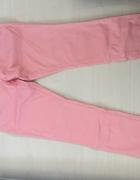 spodnie różowe