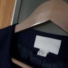 płaszcz pudełkowy H M roz L oversize kobalt