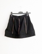 krótka spódniczka spódnica vintage retro fiszbiny...
