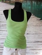 Koszulka Na Ramiączkach Fishbone Zielona S M